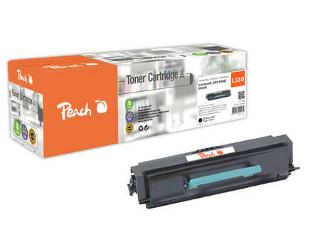 Peach  Toner Module noire, compatible avec ID-Fabricant: 34036HE Lexmark Optra E 330