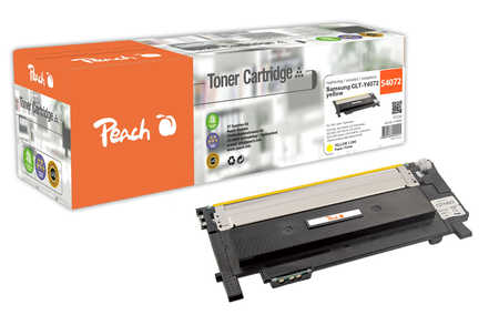 Peach  Toner Module jaune, compatible avec ID-Fabricant: CLT-Y4072 Samsung CLP-320 N