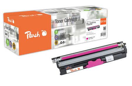 Peach  Cartouche de toner magenta XL, comapatible avec ID-Fabricant: 44250722 OKI C 110