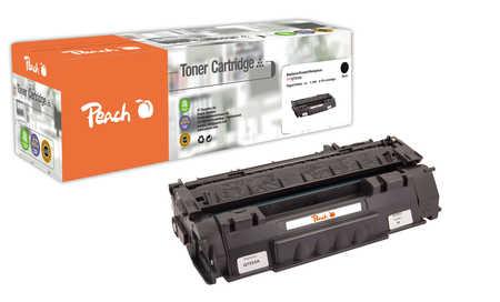 Peach  Toner Module noire, compatible avec ID-Fabricant: Q7553A HP LaserJet P 2015
