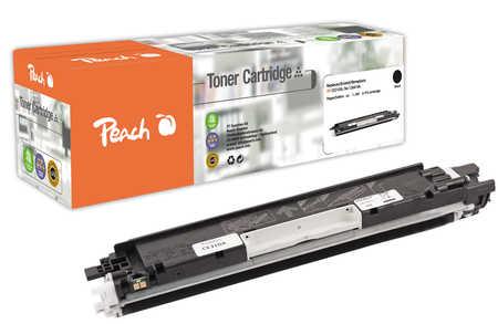 Peach  Toner Module noire, compatible avec ID-Fabricant: No. 126A, CE310A HP LaserJet CP 1025 Color