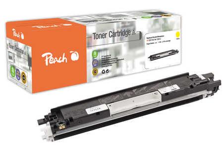 Peach  Toner Module jaune, compatible avec ID-Fabricant: No. 126A, CE312A HP LaserJet CP 1025 Color