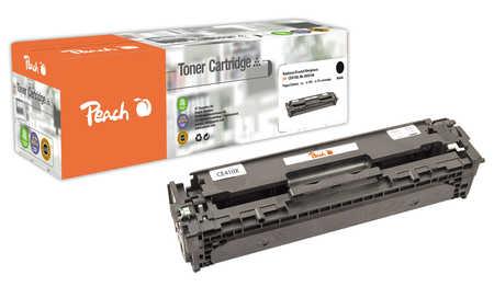 Peach  Toner Module noire, compatible avec ID-Fabricant: No. 305X, CE410X bk HP LaserJet Pro 400 color M 451 dn