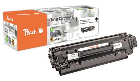 Peach  Toner Module noire, compatible avec ID-Fabricant: CRG-725 bk Canon ISensys LBP-6000