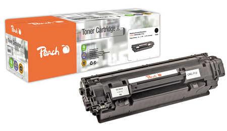 Peach  Toner Module noire, compatible avec ID-Fabricant: CRG-712 bk Canon LBP-3010