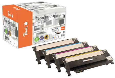 Peach Multipack , compatible avec ID-Fabricant: CLT-4092 Samsung CLP-315 N