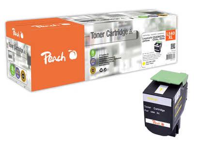 Peach  Toner Module jaune, compatible avec ID-Fabricant: C540H2Yg, C54x, X54x Lexmark Optra C 544 DTN