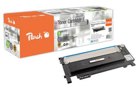Peach  Toner Module cyan, compatible avec ID-Fabricant: CLT-C406S Samsung CLP-360 N