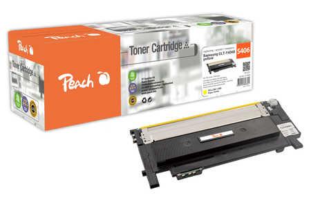 Peach  Toner Module jaune, compatible avec ID-Fabricant: CLT-Y406S Samsung CLP-360 N