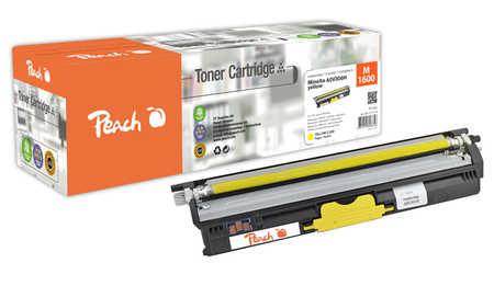 Peach  Toner Module jaune, compatible avec ID-Fabricant: A0V306H Konica Minolta Magicolor 1650 EN