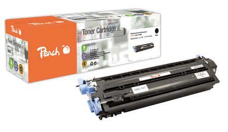 Peach  Toner Module noire, compatible avec ID-Fabricant: CRG-707BK Canon Lasershot LBP-5000
