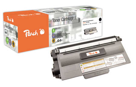 Peach  Toner Module noire, compatible avec ID-Fabricant: TN-3330 Brother DCP-8250 DN