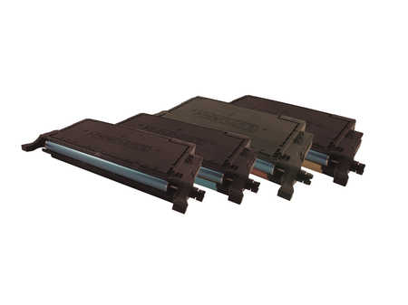 Peach Multipack , compatible avec ID-Fabricant: CLP-660B Samsung CLP-610 ND