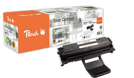 Peach  Toner Module noire, compatible avec ID-Fabricant: MLT-D117S/ELS Samsung SCX-4655 Series