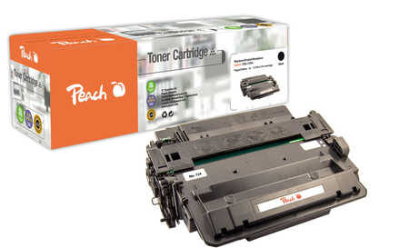 Peach  Toner Module noire, compatible avec ID-Fabricant: CRG-724H, 3482B002 Canon ISensys LBP-6750 dn