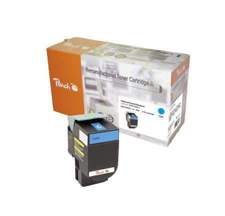 Peach  Toner Module cyan, compatible avec ID-Fabricant: C544X2CG, C544, X544 Lexmark C 544 DN
