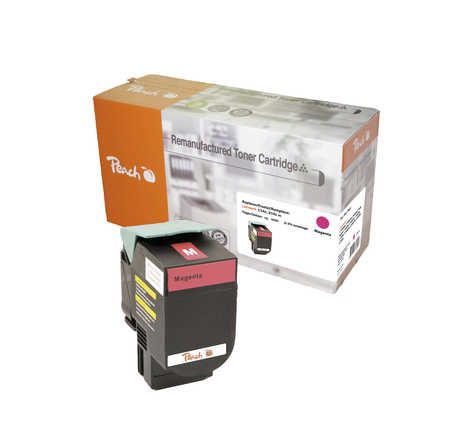 Peach  Toner Module magenta, compatible avec ID-Fabricant: C544X2MG, C544, X544 Lexmark Optra C 544 DTN