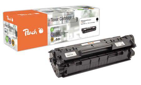 Peach  Toner Module noir HY, compatible avec ID-Fabricant: No. 12A BK, Q2612A, CRG-703, EP-703 HP LaserJet 1010
