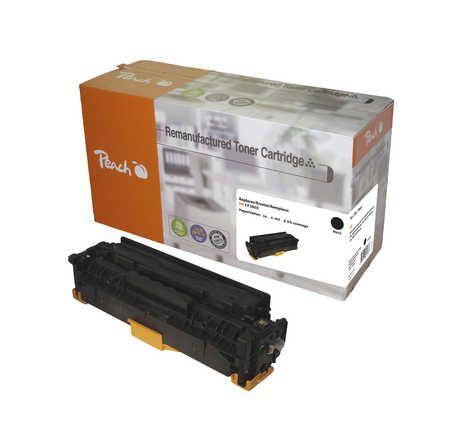 Peach  Toner Module noire, compatible avec ID-Fabricant: No. 312X, CF380X HP Color LaserJet Pro MFP M 476 dw