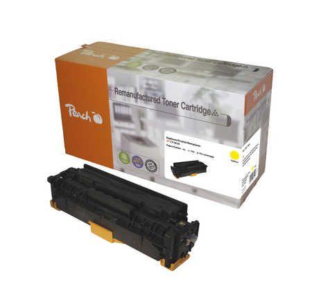 Peach  Toner Module jaune, compatible avec ID-Fabricant: No. 312A, CF382A HP Color LaserJet Pro MFP M 476 dw