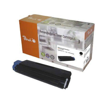 Peach  Toner Module noire, compatible avec ID-Fabricant: C5100, 42127408 OKI C 5100 N
