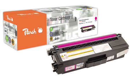 Peach  Toner Module magenta, compatible avec ID-Fabricant: TN-326M Brother MFCL 8600 CDW