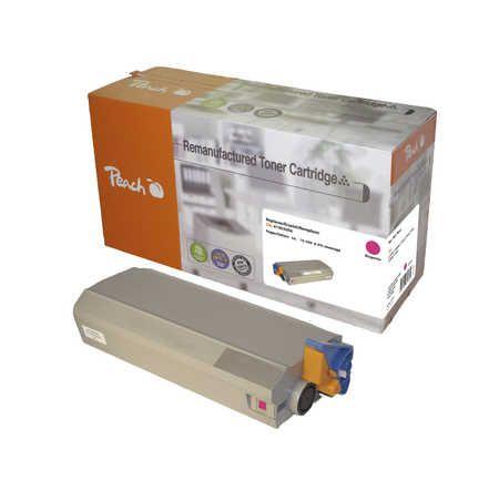 Peach  Toner Module magenta, compatible avec ID-Fabricant: 41963006 OKI C 7100