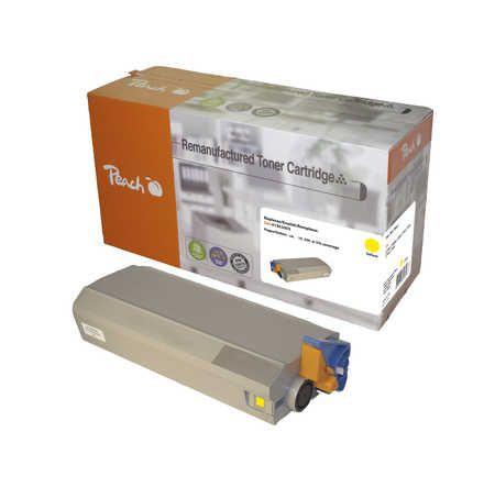 Peach  Toner Module jaune, compatible avec ID-Fabricant: 41963005 OKI C 7100