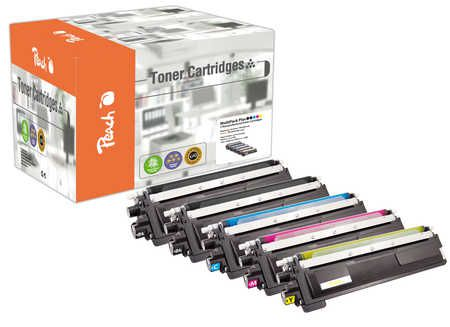 Peach Multipack Plus  compatible avec ID-Fabricant: TN-230 Brother HL-3040 CN