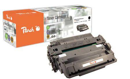 Peach  Toner Module noire, compatible avec ID-Fabricant: CE255X HP LaserJet P 3015 D