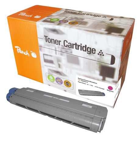 Peach  Toner Module magenta, compatible avec ID-Fabricant: 44844614 OKI C 822 CDTN