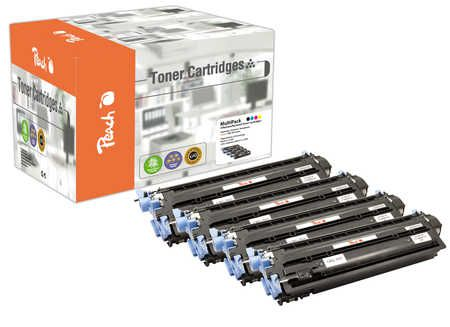 Peach Multipack , compatible avec ID-Fabricant: CRG-707 series Canon Lasershot LBP-5000