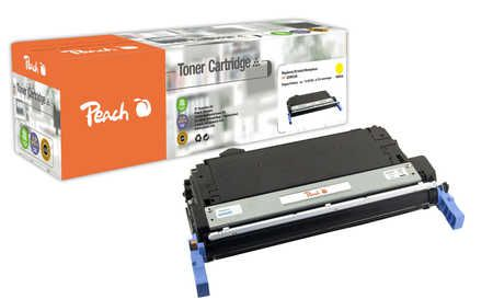 Peach  Toner Module jaune, compatible avec ID-Fabricant: No. 643A, Q5952A HP Color LaserJet 4700
