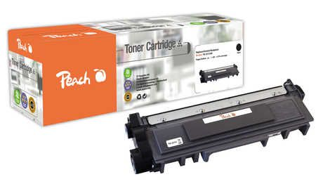 Peach  Toner Module noire, compatible avec ID-Fabricant: TN-2310 Brother MFCL 2700 DW