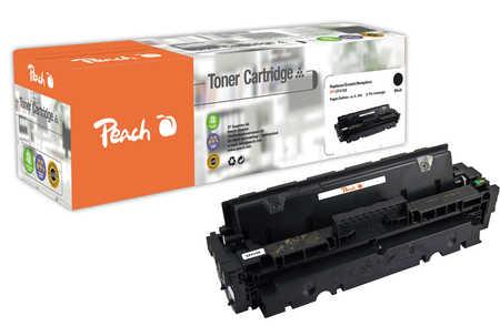 Peach  Toner Module noire, compatible avec ID-Fabricant: 410X, CF410X HP Color LaserJet Pro MFP M 477 fnw