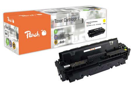 Peach  Toner Module jaune, compatible avec ID-Fabricant: 410X, CF412X HP Color LaserJet Pro MFP M 477 fnw