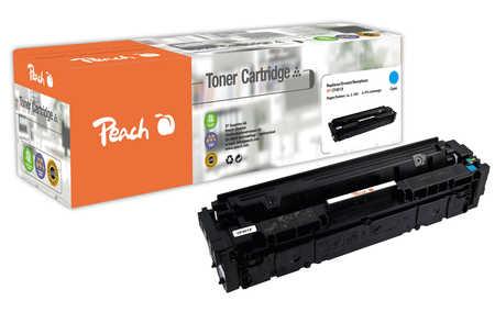 Peach  Toner Module cyan, compatible avec ID-Fabricant: No. 201X, CF401X HP Color LaserJet Pro M 252 n