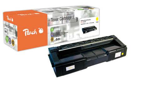 Peach  Toner Module jaune, compatible avec ID-Fabricant: 406106 Ricoh Aficio SP C 222 dn
