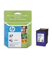 Original Cartouche d'encre couleur originale ID-Fabricant: No. 57, C6657AE HP PSC 1310