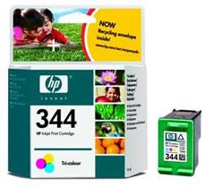 Original Cartouche d'encre couleur originale ID-Fabricant: No. 344, C9363E HP DeskJet 5740