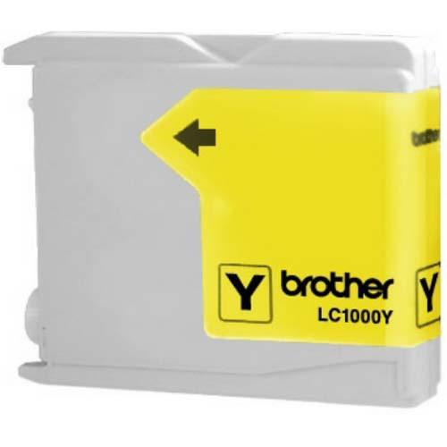 Original Cartouche d'encre jaune originale ID-Fabricant: LC-1000Y Brother DCP-130 C