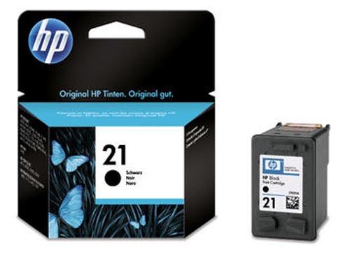 Original Cartouche d'encre noire originale ID-Fabricant: No. 21, C9351AE HP OfficeJet 4625