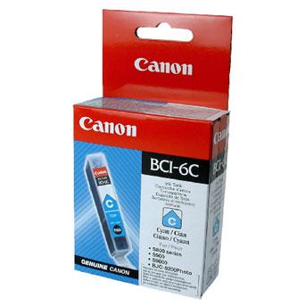 Original Cartouche d'encre cyan originale ID-Fabricant: BCI-3e c, BCI-5 c, BCI-6 c Canon BJC 8200
