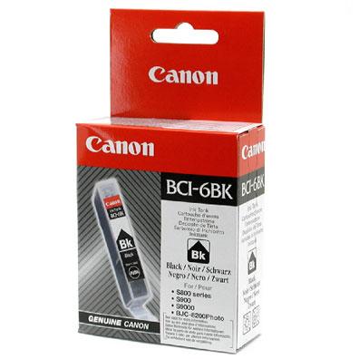 Original Cartouche d'encre noire originale ID-Fabricant: BCI-6 bk Canon BJC 8200