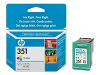 Original Cartouche d'encre couleur originale ID-Fabricant: No. 351, CB337EE HP OfficeJet J 5780