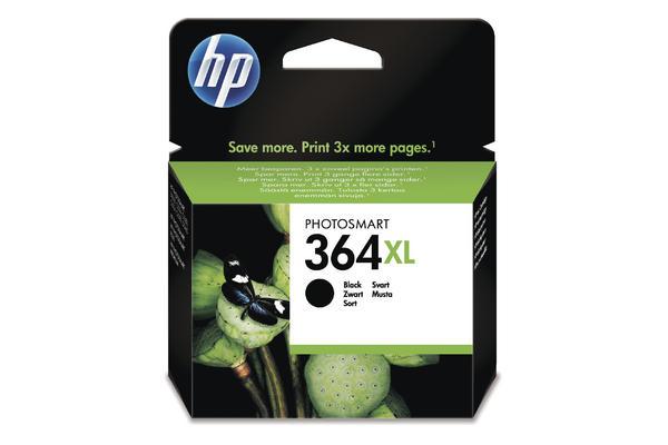 Original Cartouche d'encre noire originale, grande capacité ID-Fabricant: No. 364XL, CN684EE HP PhotoSmart C 5390