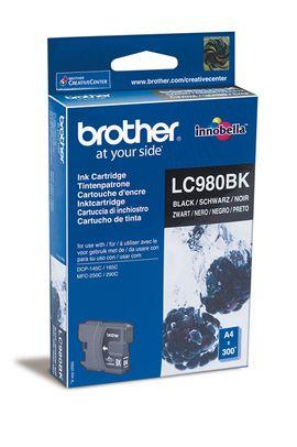 Original Cartouche d'encre noire originale ID-Fabricant: LC-980 bk Brother DCP-163 C