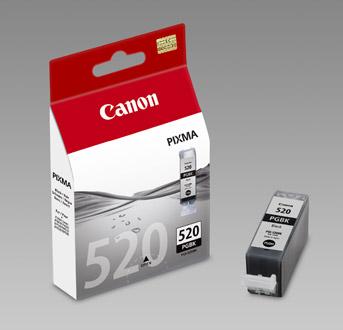 Original Cartouche d'encre noire originale ID-Fabricant: PGI-520bk, 2932B001 Canon Pixma MP 620