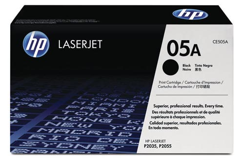 Original Cartouche de toner noir originale ID-Fabricant: CE505A HP LaserJet P 2035 N