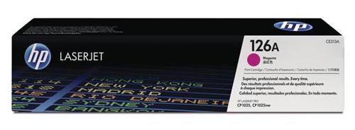 Original Cartouche de toner magenta originale ID-Fabricant: No. 126A, CE313A HP LaserJet CP 1025 Color